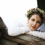 Свадьба в русском народном стиле.
